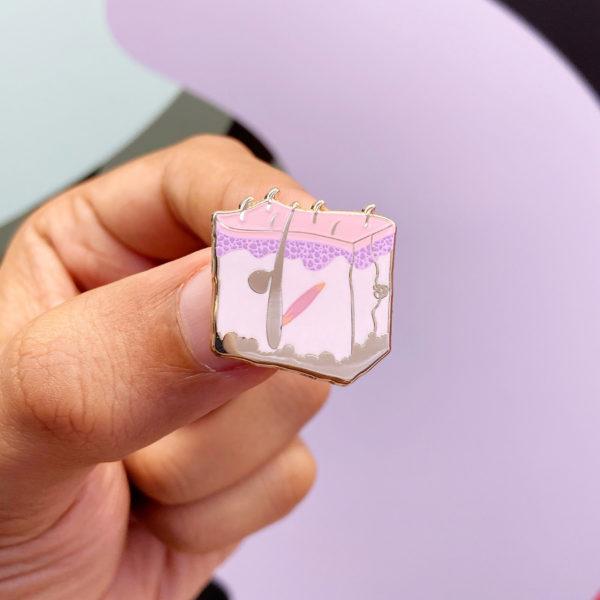 Dermatology Enamel Pin